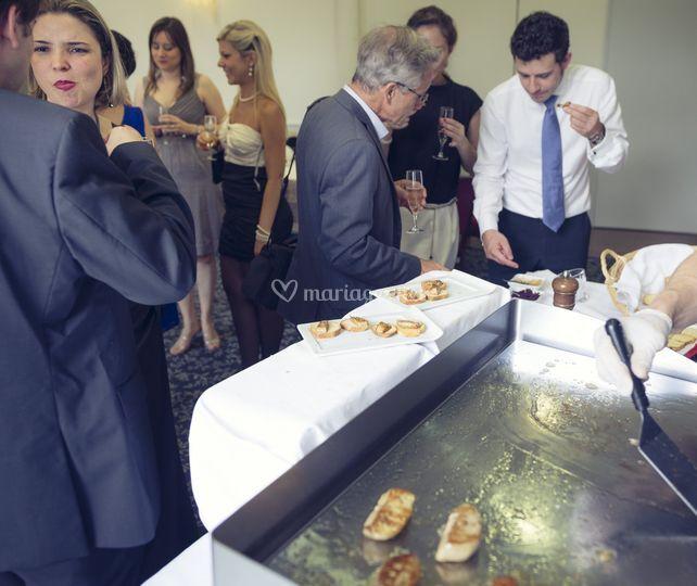 Plancha Foie gras