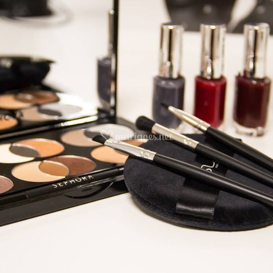Outils maquillage