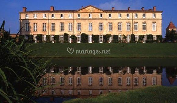 La façade - Château de Parentignat