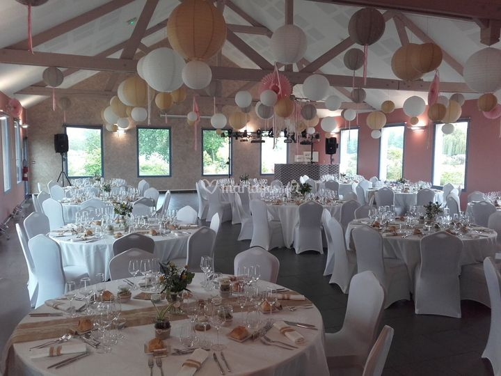 Salle de réceptions, mariages