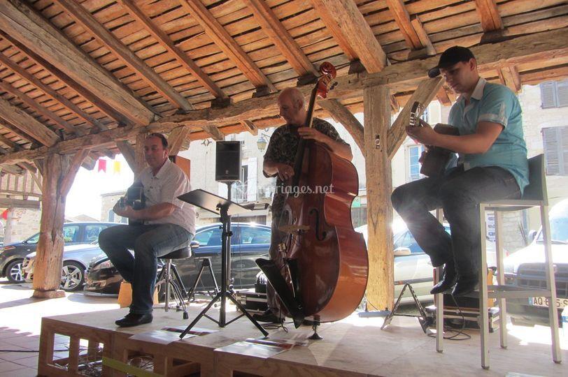Concert à villeréal.