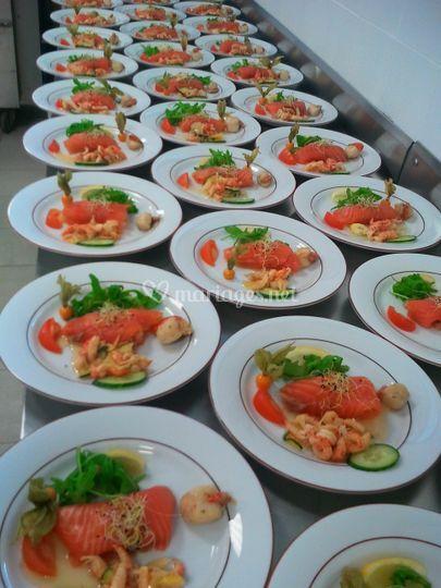Pannequet de saumon