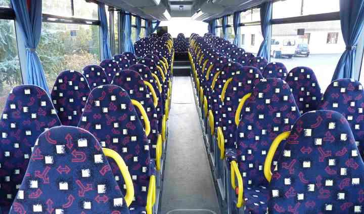 Interieur bus scolaire