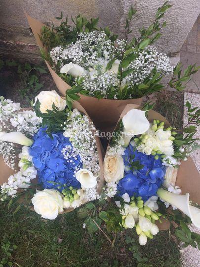 Bouquets invités le lendemain