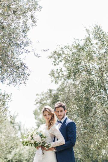 Couple en Provence