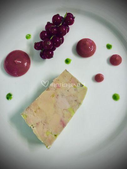 Foie gras•Fruits rouges