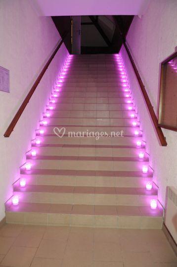 Escalier colombier
