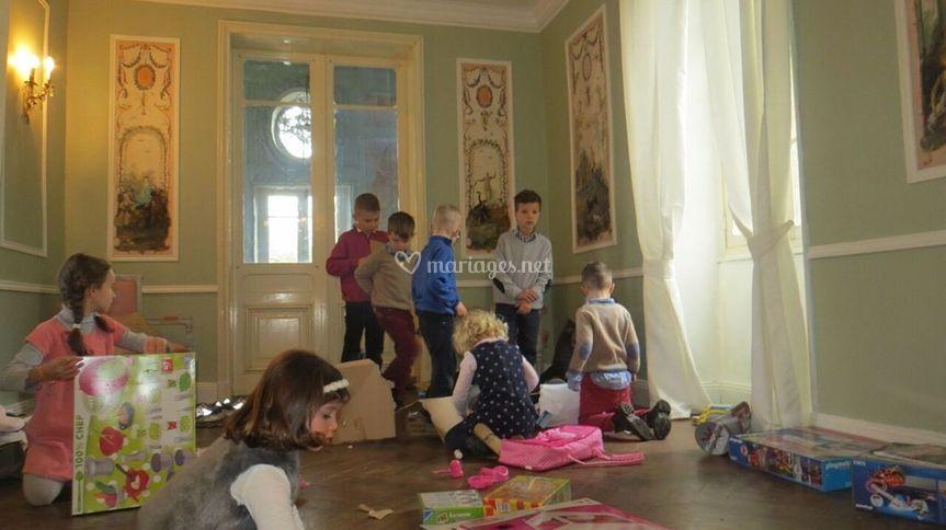 Salle pour les enfants