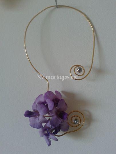 Collier floral