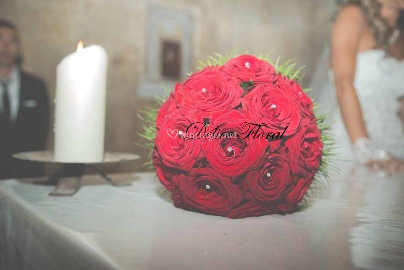 Bouquet de mariée passion