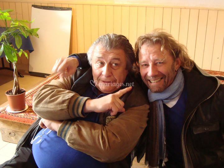 Avec Bernard bilis