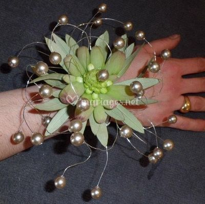 Bracelet tillandsia perle