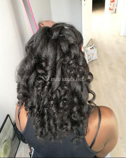 Boucles cheveux naturels
