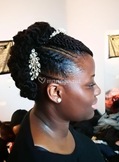 Mariage updo