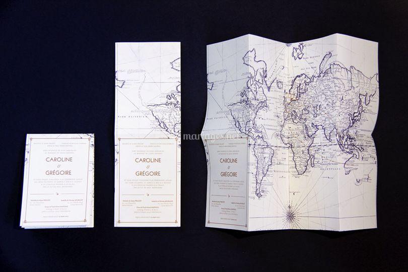 "Invitation ""map"""