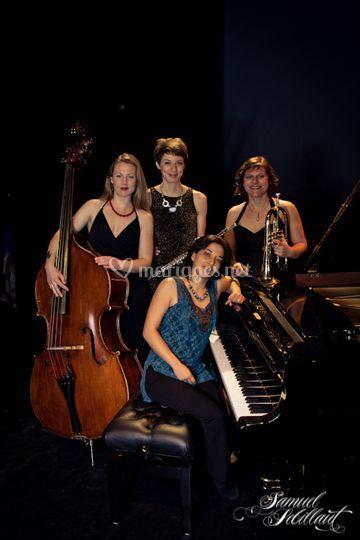 Sophisticated Ladies quartet