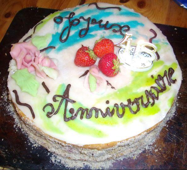 Desserts - gâteau d'anniversaire