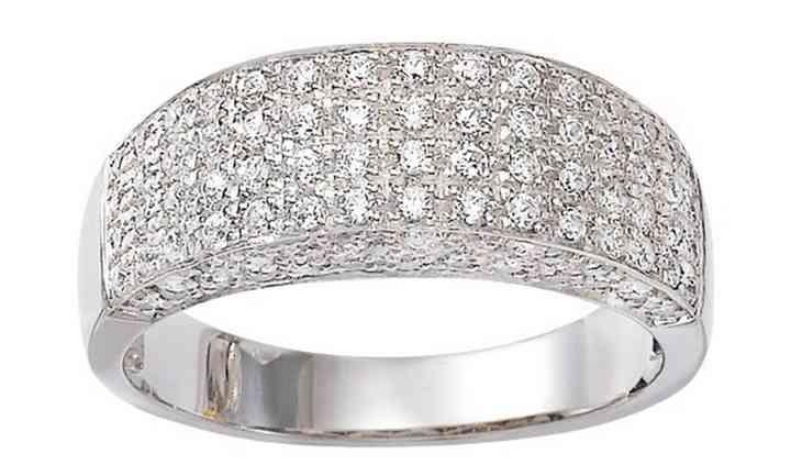 Bague Diamants en OR Blanc