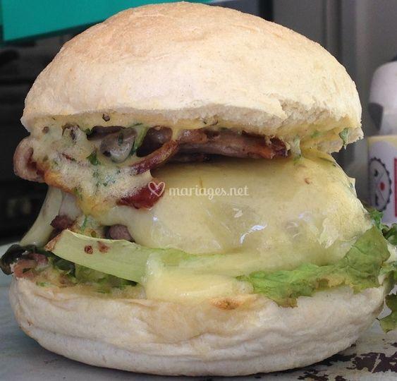 Burger Food Truck Fermier