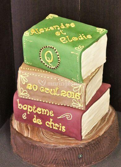 Wedding cake à tème