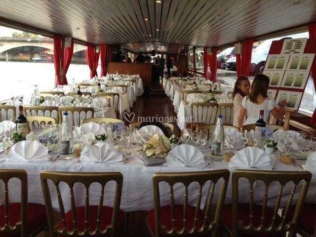 Tables d'honneur mariés