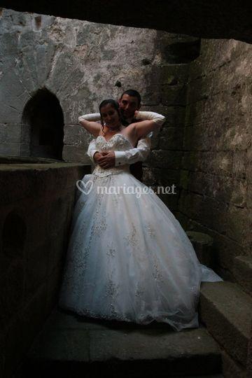 Les mariés ,porte XIIIeme