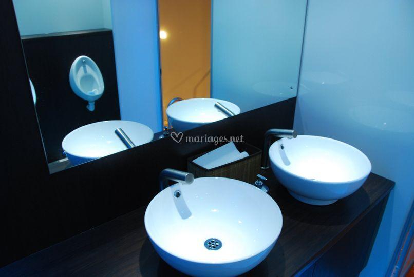 Caravane sanitaire intérieur