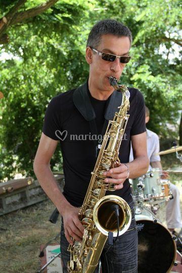 Bruno, notre Saxophoniste