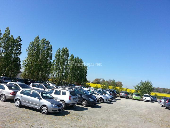 Parking clos