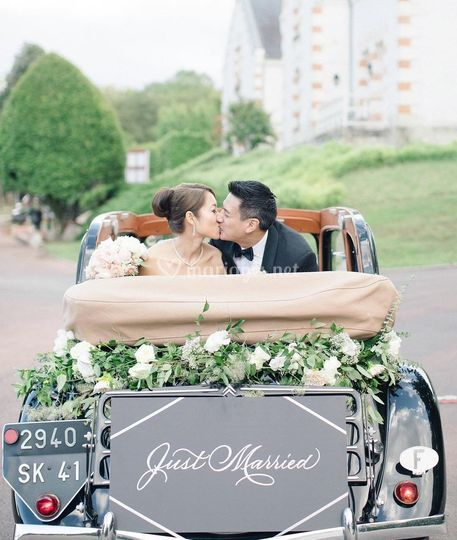 Organisation véhicule mariés