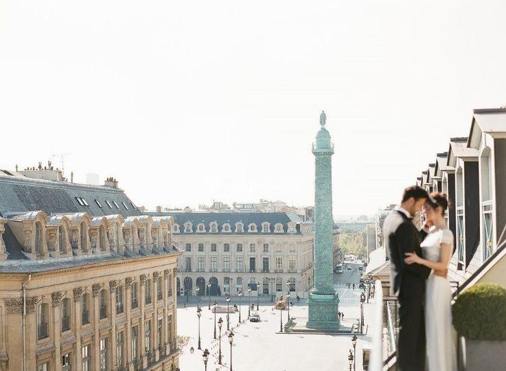 Vue sur la Place Vendôme