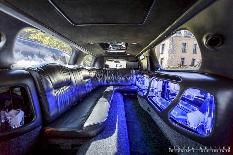 Roche limousine for Interieur limousine