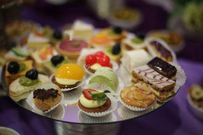 Bouchées de dessert