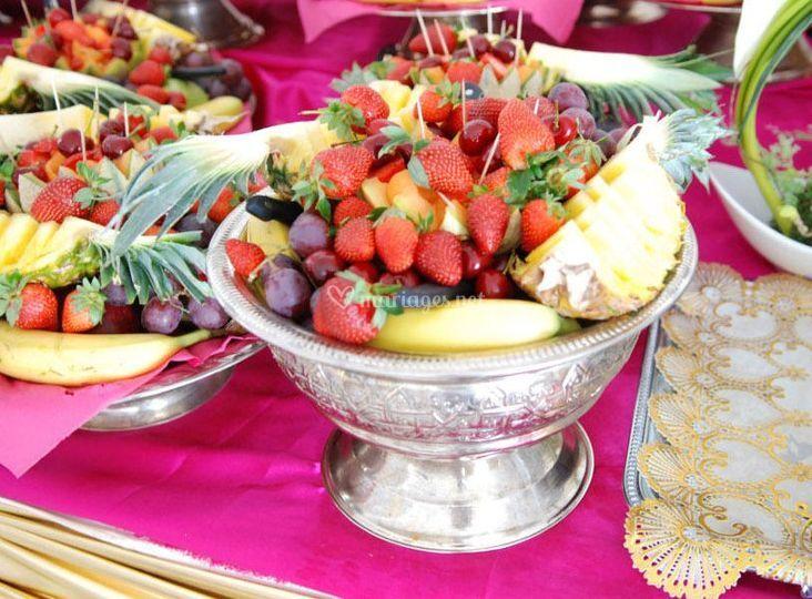Corbeilles de fruit