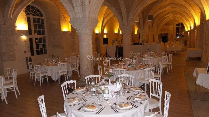 Salle repas Abbaye du Valasse