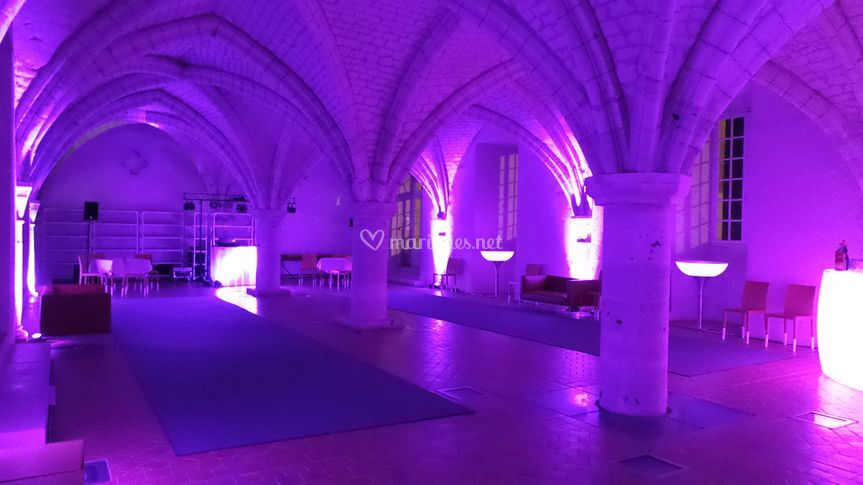 Salle danse Abbaye du Valasse