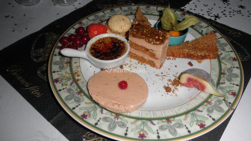 Notre gourmandise de foie gras