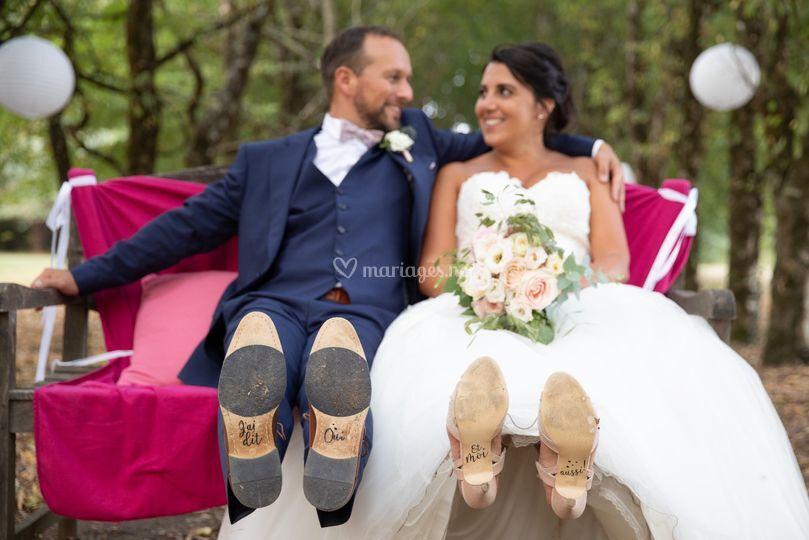 Mariés dans l'Allée ©Clicc'est