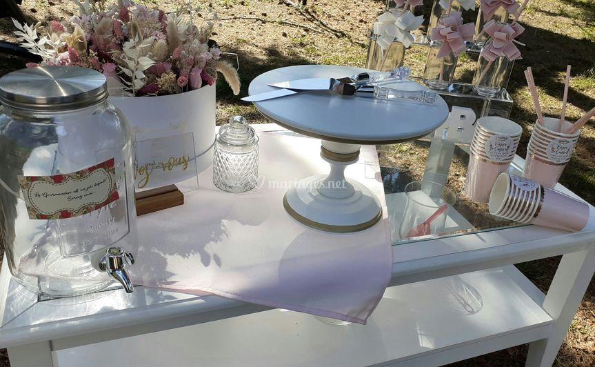 Sweet table boudoir