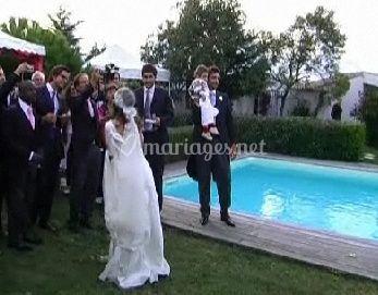 Michel et Jocelyne piscine