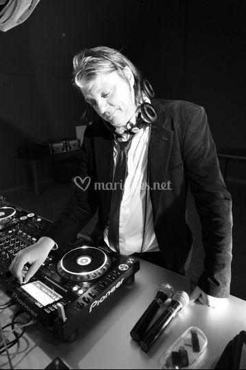 Travail de DJ