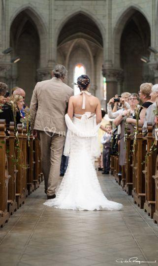 Entrée de la mariée.