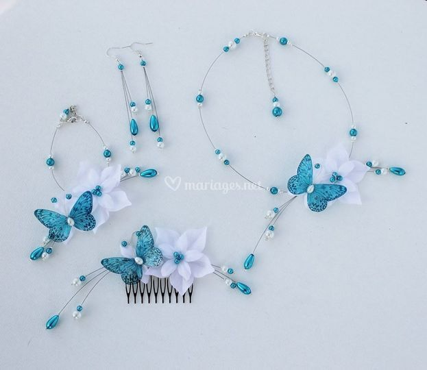 Parure Lysandra turquoise