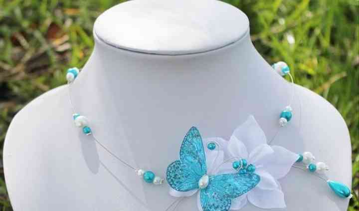 Collier Lysandra turquoise