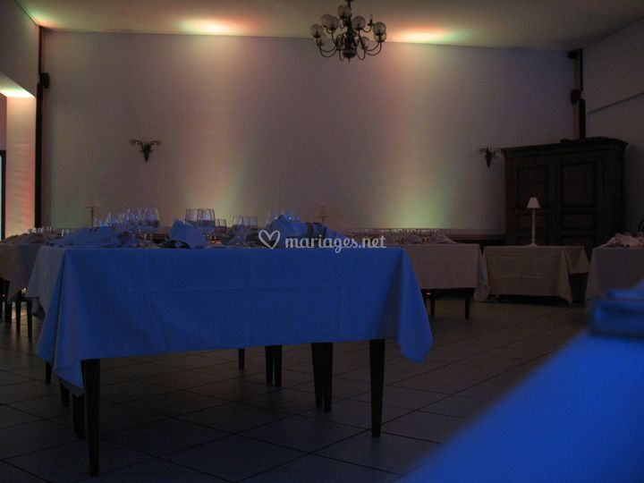 Eclairage d'ambiance led