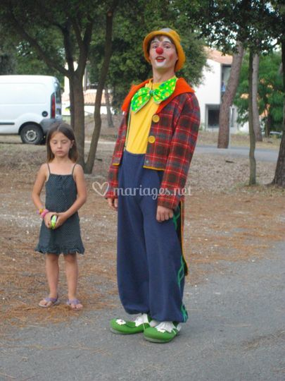 Des animations clown