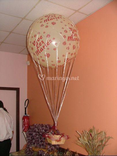 Mongolfière à l'hélium