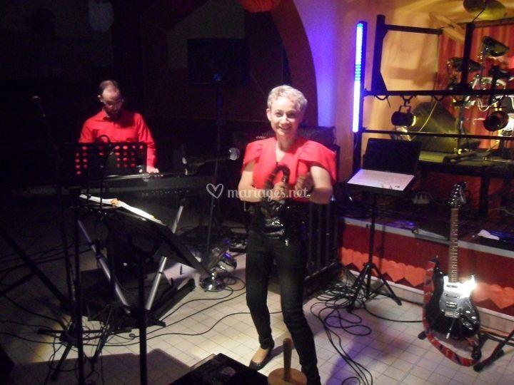 La chanteuse/Sandra