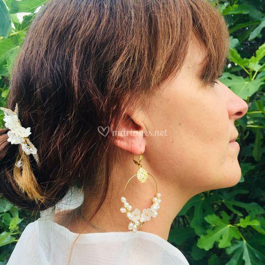 Boucles d'oreilles Aimée
