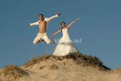 Amour à la plage